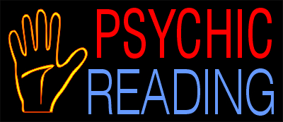 PSYCHIC READING NEON SIGNS by signmerchant, the #1 stock ...